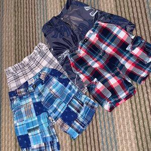 Bundle of 4 pairs boys shorts size 7